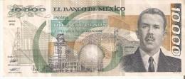 BILLETE DE MEXICO DE 10000 PESOS AÑO 1989 DE CARDENAS   (BANKNOTE) - México