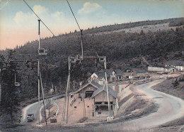 Col De La Schlucht 68 - Ski Ensemble Télésiège - Cachet Postal Linthal 1956 - Non Classés