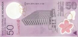 BILLETE DE NICARAGUA DE 50 CORDOBAS DEL AÑO 2009 SIN CIRCULAR-UNCIRCULATED  (BANK NOTE) POLIMERO - Nicaragua