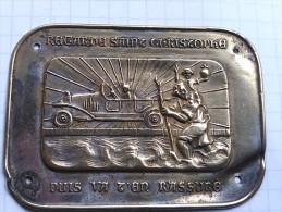 Plaque Pendentif Médaille Religieuse St Christophe - Religione & Esoterismo