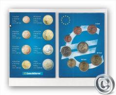 KMS Andorra 1Cent - 2 Euro Im Folder Von Leuchturm UNC - Andorra