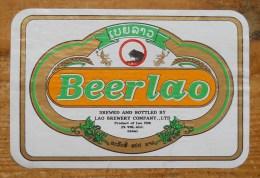 Etiket, Label, Bier, Beer, Beerlao - Andere Verzamelingen