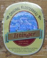 Etiket, Label, Bier, Beer, Ittinger - Andere