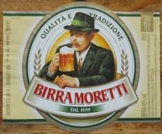 Etiket, Label, Bier, Beer, Birra Moretti - Andere Verzamelingen