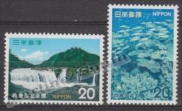Japan - Japon 1974 Yvert 1105-06, National Park Of Iriomote - MNH - 1926-89 Emperador Hirohito (Era Showa)