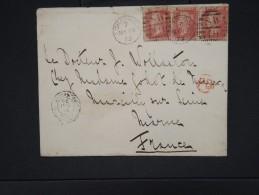 GRANDE BRETAGNE-Enveloppe De Londres Pour La France En 1875  à Voir     P5921 - 1840-1901 (Regina Victoria)