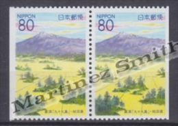 Japan - Japon 2000 Yvert 2857a, Kisakata Lagoons, Akita - Pair From Booklet - MNH - 1989-... Empereur Akihito (Ere Heisei)
