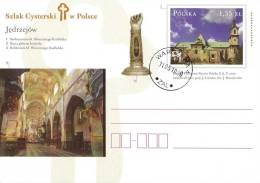 M POLAND 2010.05.31. Cp 1542 Cistercian Route In Poland - Jedrzejow - Church - Postwaardestukken