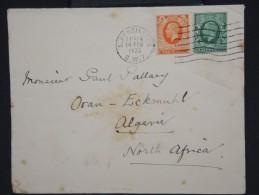 GRANDE-BRETAGNE-Enveloppe De St Kensington Pour L Algerie En 1935  à Voir     P5929 - 1902-1951 (Kings)