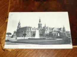 Dresden Kath. Hofkirche Kgl. Schloss 1905 Germany - Dresden