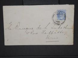 GRANDE -BRETAGNE- INDE - Enveloppe De Madras Pour Paris En 1910  à Voir     P5933 - 1902-11 King Edward VII