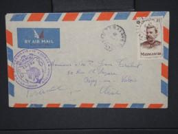 FRANCE -MADAGASCAR -Cachet Du 1er Voyage Du Bourdennais Sur Env. Obl De Tamatave Pour Crépy En Valois   à Voir     P5934 - Covers & Documents