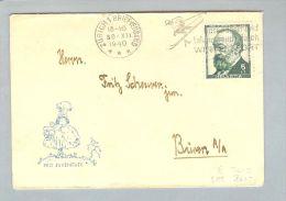 Motiv Pro Juventute 1940-12-30 PJ Briefli Mit 5Rp. PJ Frankiert - Lettres & Documents