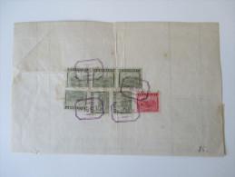 China 1947 Interessanter Beleg!! Roter Stempel! Frachtbrief ?? Shanghai Yih Yeou Transportation Co. 506265 Dollars - China