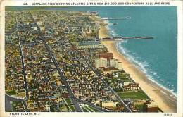 Réf : D-15-1758  : ATLANTIC CITY  AIRPLANE VIEW - Atlantic City