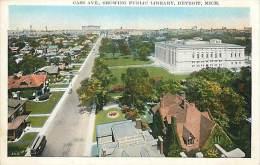 Réf : D-15-1759  : CASS AVE SHOWING PUBLIC LIBRARY DETROIT - Detroit