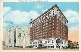Réf : D-15-1765  : HOTEL FORT WAYNE  DETROIT - Detroit