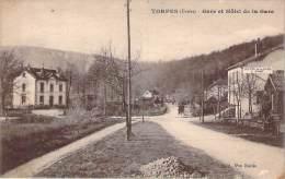 25 - Torpes - Gare Et Hôtel De La Gare - Autres Communes