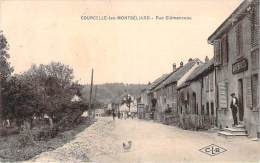 25 - Courcelle-les-Montbéliard - Rue Clémenceau (café Beucler) - Autres Communes
