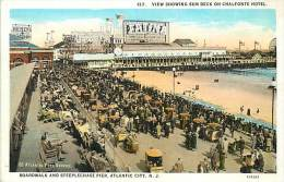 Réf : D-15-1772  : ATLANTIC CITY   BOARDWALK AND STEEPLECHASE PIER - Atlantic City