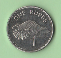 One Rupie Seychelles 2010 - Seychelles