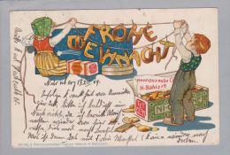 MOTIV Reklame Werbung 1904-12-17 Litho Hann.Cakesfab.Bahlsen - Publicité