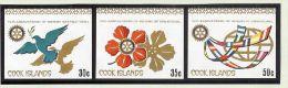 MOTIV Rotary Cook Island Mi#663-5 ** Ungezähnt Aus Kleinbg. - Cook