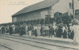 Lourdes.  Arrivée Du Train Blanc National - Lourdes