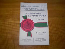 Vermorel : De Quoi Est Formée La Terre Arable Par S. Meunier . Caractères, Composition, Différentes Sortes,lapartie Viva - Garden
