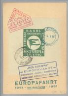MOTIV SCHIFF MS Europa Europafahrt 1960-06-05 Rotterdam Souvenir - Maritime