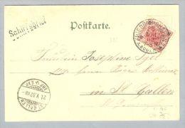 MOTIV SCHIFF Schiffspost Bodensee 1902-05-20 Schiffsb.Friedrichsh. - 1918-1945 1. Republik