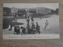 CPA  14 DEAUVILLE JEUX ENFANTS  HIPPODROME - Deauville