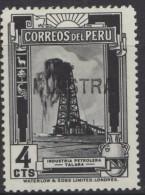 O) 1936 PERU, PROOF,  MUESTRA, OIL, REFINERY TALARA,SCOTT A144  XF - Peru