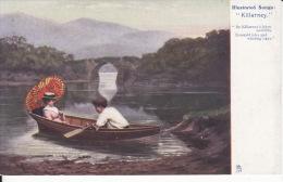 Illustrated Songs , Killarney 1 , 2 Scans ( Raphael Tuck & Sons Oilette  ) - Tuck, Raphael