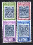 CI956e - MALAWI 1966, Serie N. 52/55  *** MNH . - Malawi (1964-...)