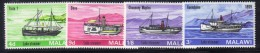 CI960a - MALAWI 1966, Serie N. 64/67  *** MNH . - Malawi (1964-...)