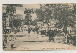 LE VÉSINET - MARCHE DE L´ARMÉE - 29 Mai 1904 - Arc De Triomphe - Le Vésinet