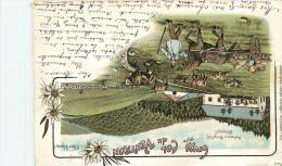 Gruss Vom  Col Du Ventron - Voyagée En 1901 - France