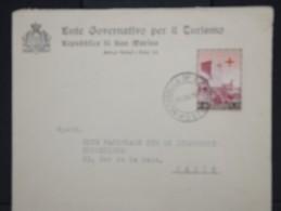 SAINT-MARIN-Enveloppe    Pour La France    En 1951 Aff Plaisant          à Voir     P5961 - Saint-Marin