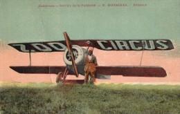ZOOCIRCUS - Service De La Publicite - R. RONSERAIL Aviateur - Circo