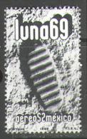 M0612 Space Raumfahrt Weltraum Cosmos Apollo 11 Mexico 1v Set MNH ** - Space