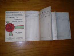 Vermorel : La Comptabilité Agricole  Par A. Riverain : Méthode Pratique Avec Tableaux Dépliants - Garden