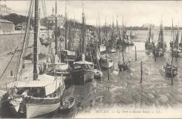 ROYAN - 17 -  Le Port à Marée Basse - ENCH175 - - Royan