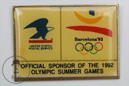 Olympic Games Barcelona 1992 - United States Postal Service - Pin Badges #PLS - Juegos Olímpicos