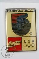 Olympic Games USA Cycling Team - Coca Cola Advertising - Pin Badges #PLS - Juegos Olímpicos