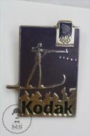 Olympic Games Lillehammer 1994 - Kodak Advertising - Pin Badges #PLS - Juegos Olímpicos