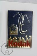 Olympic Games Lillehammer 1994 Skiing - Kodak Advertising - Pin Badges #PLS - Juegos Olímpicos