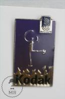 Olympic Games Lillehammer 1994 Skating - Kodak Advertising - Pin Badges #PLS - Juegos Olímpicos