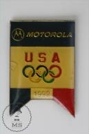 Olympic Games USA 1992 - Motorola Advertising - Pin Badges #PLS - Juegos Olímpicos