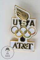 Olympic Games USA - AT&T Advertising - Pin Badges #PLS - Juegos Olímpicos